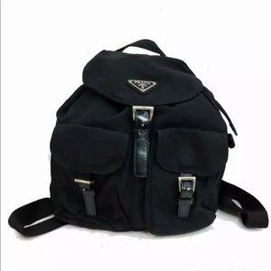 Authentic Prada Nylon Backpack